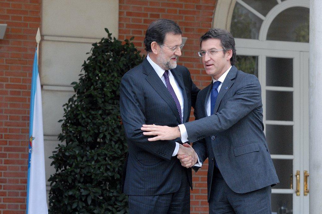 Mariano Rajoy y Alberto Núñez Feijóo son grandes aliados políticos, como Cifuentes. Ambos son partidarios de la ideología de género.