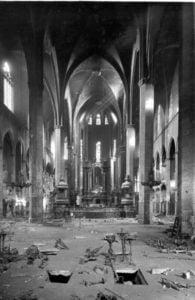 Iglesia de Santa María del Mar, de Barcelona, profanada