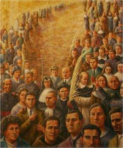 Mártires de la persecución religiosa en España