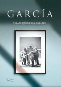 """Portada del libro """"García""""."""