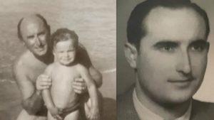 Modesto Carriegas Pérez y su hijo.