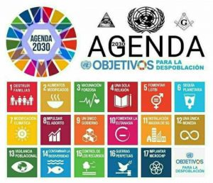 La Agenda 2030 es la Hoja de Ruta del Nuevo Orden Mundial