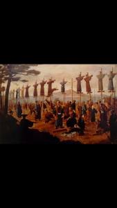 Martirio de católicos japoneses